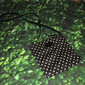 Kate Spade polka dot cross body